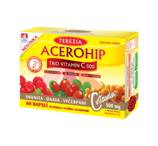 ACEROHIP Vitamin C Trio 500mg